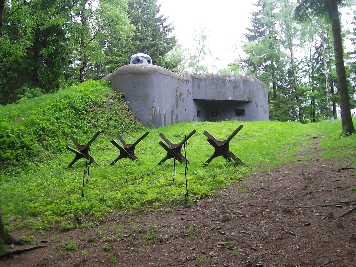 Pěchotní srub U potoka K-S5