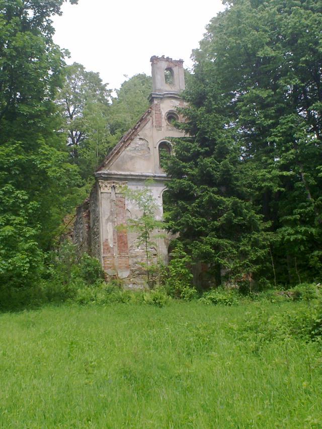 Zřícenina kostela sv. Marty