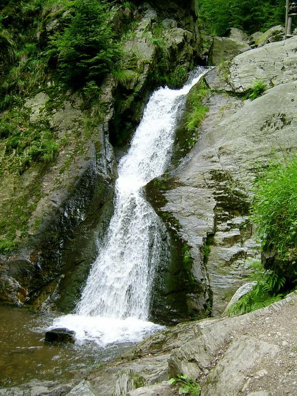 Rešovské vodopády  - Jeseníky