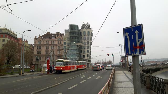 Tančící dům - Praha