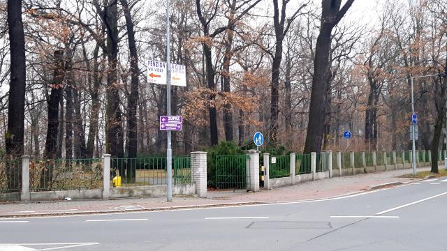 In line v parku Petra Bezruče - Bohumín