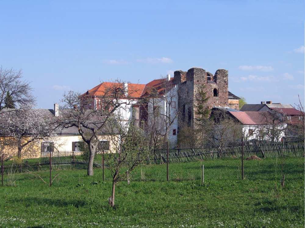 Tvrz a zámek Dobrš