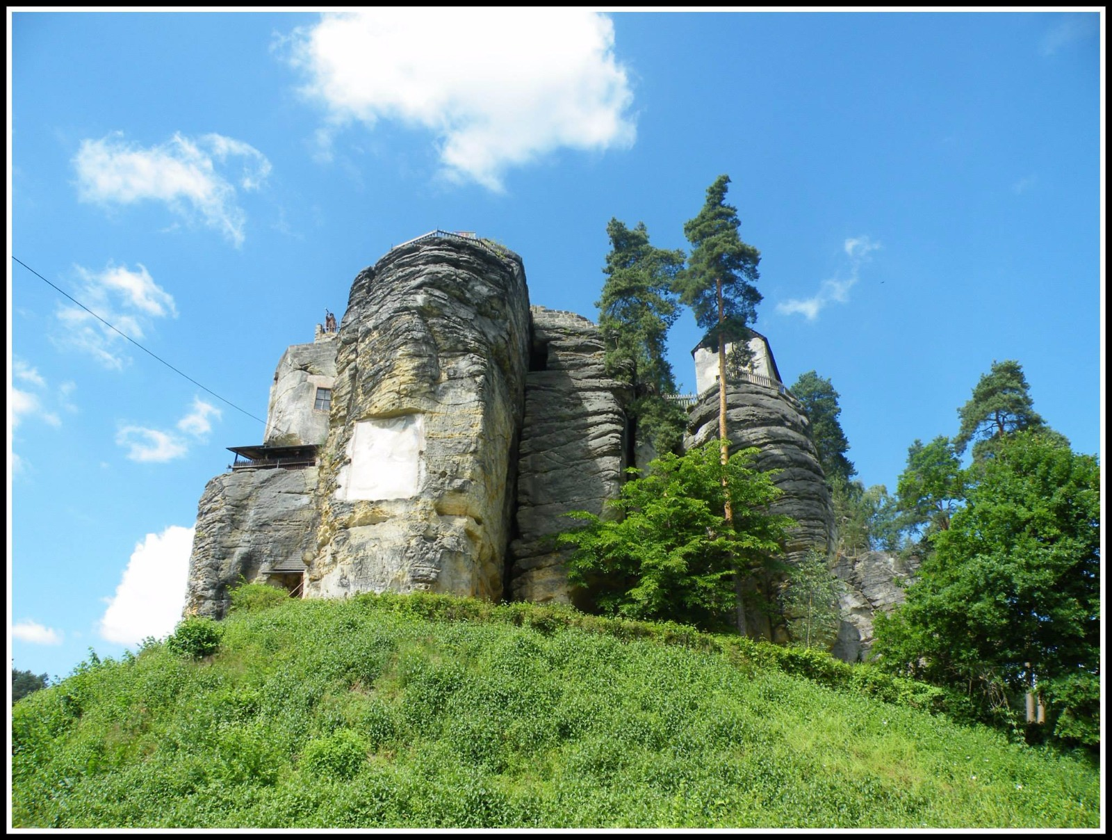 Rock Castle and Hermitage Sloup