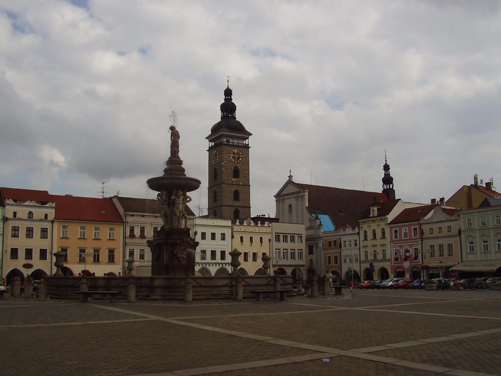 Samsonova kašna - České Budějovice