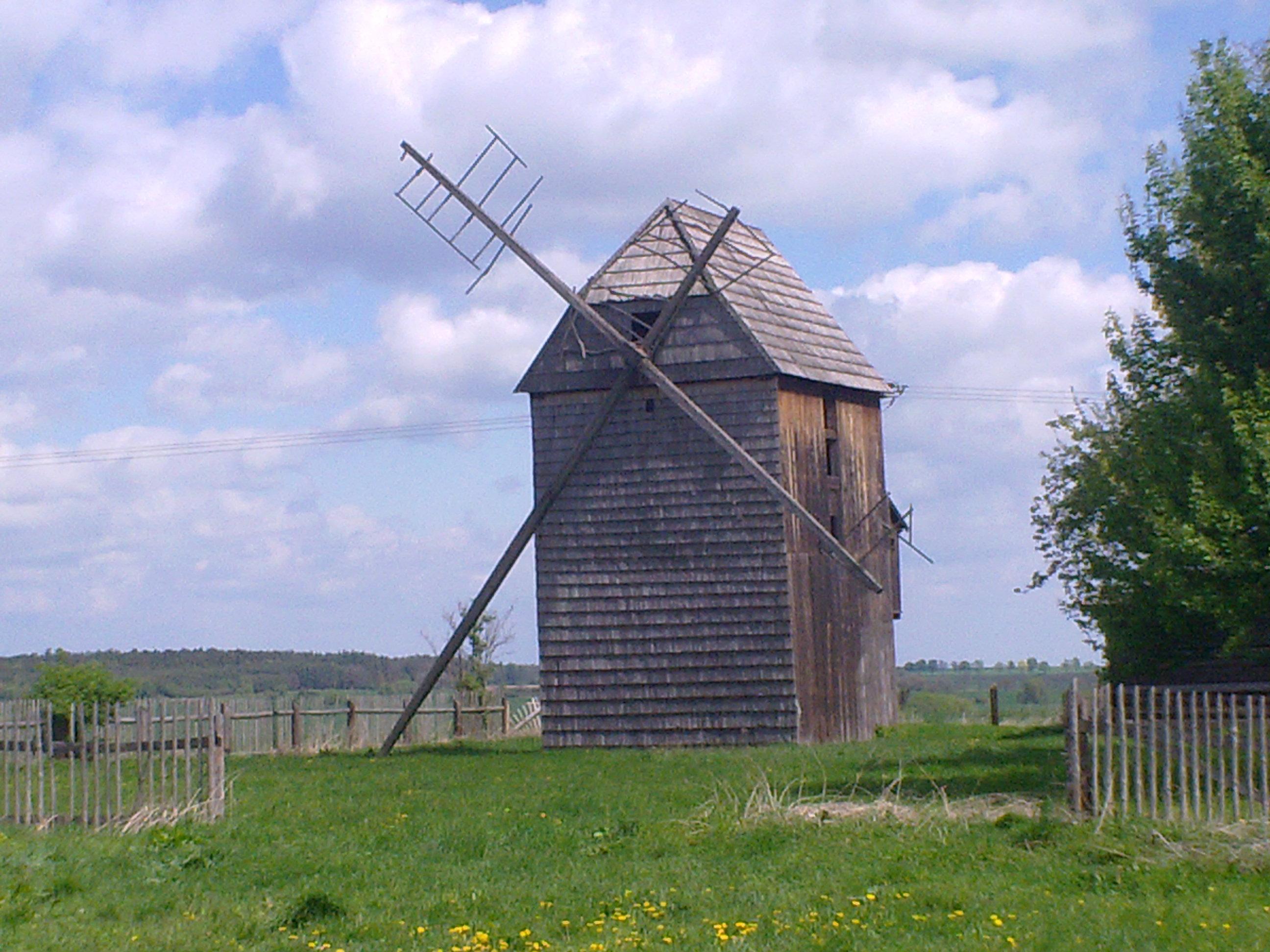 Větrný mlýn Hlavnice