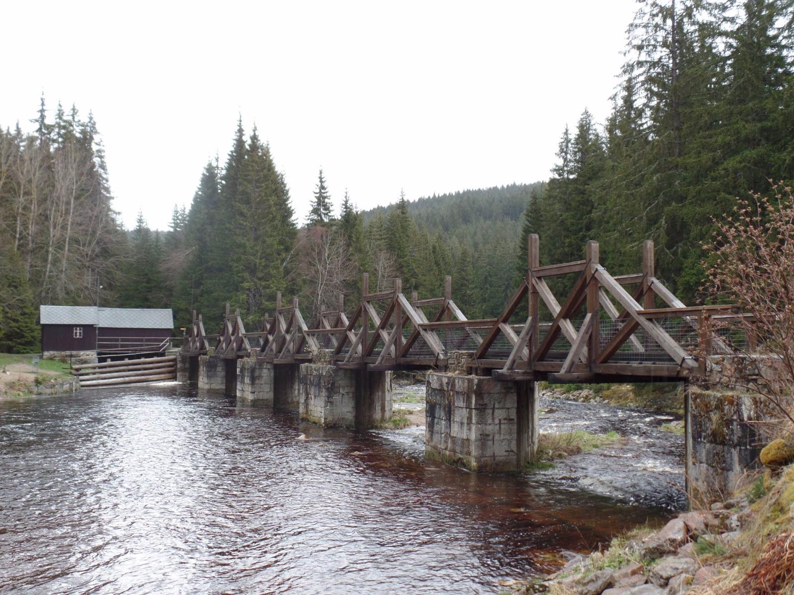 Hradlový most - Rechle