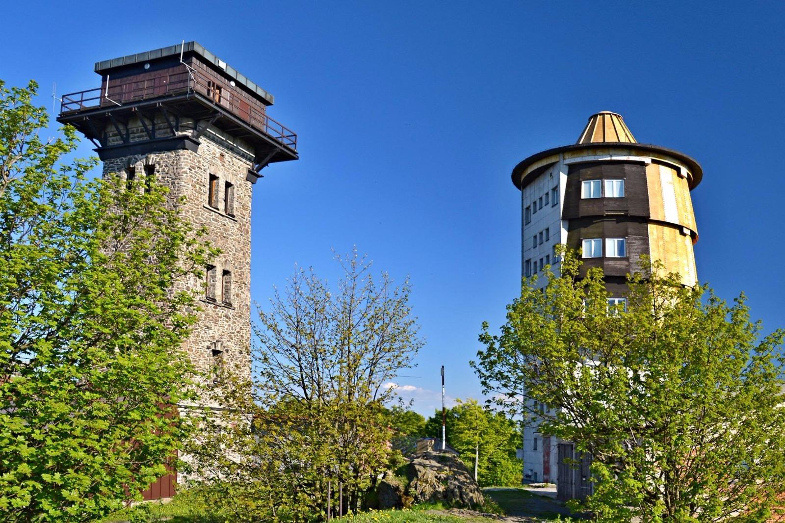Rozhledna Kurzova věž Čerchov