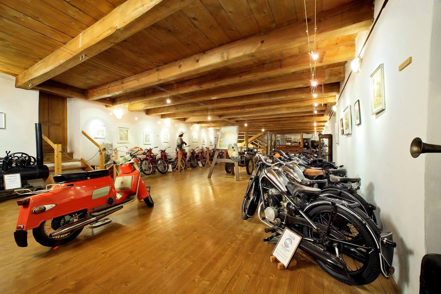 Muzeum historických motocyklů Český Krumlov