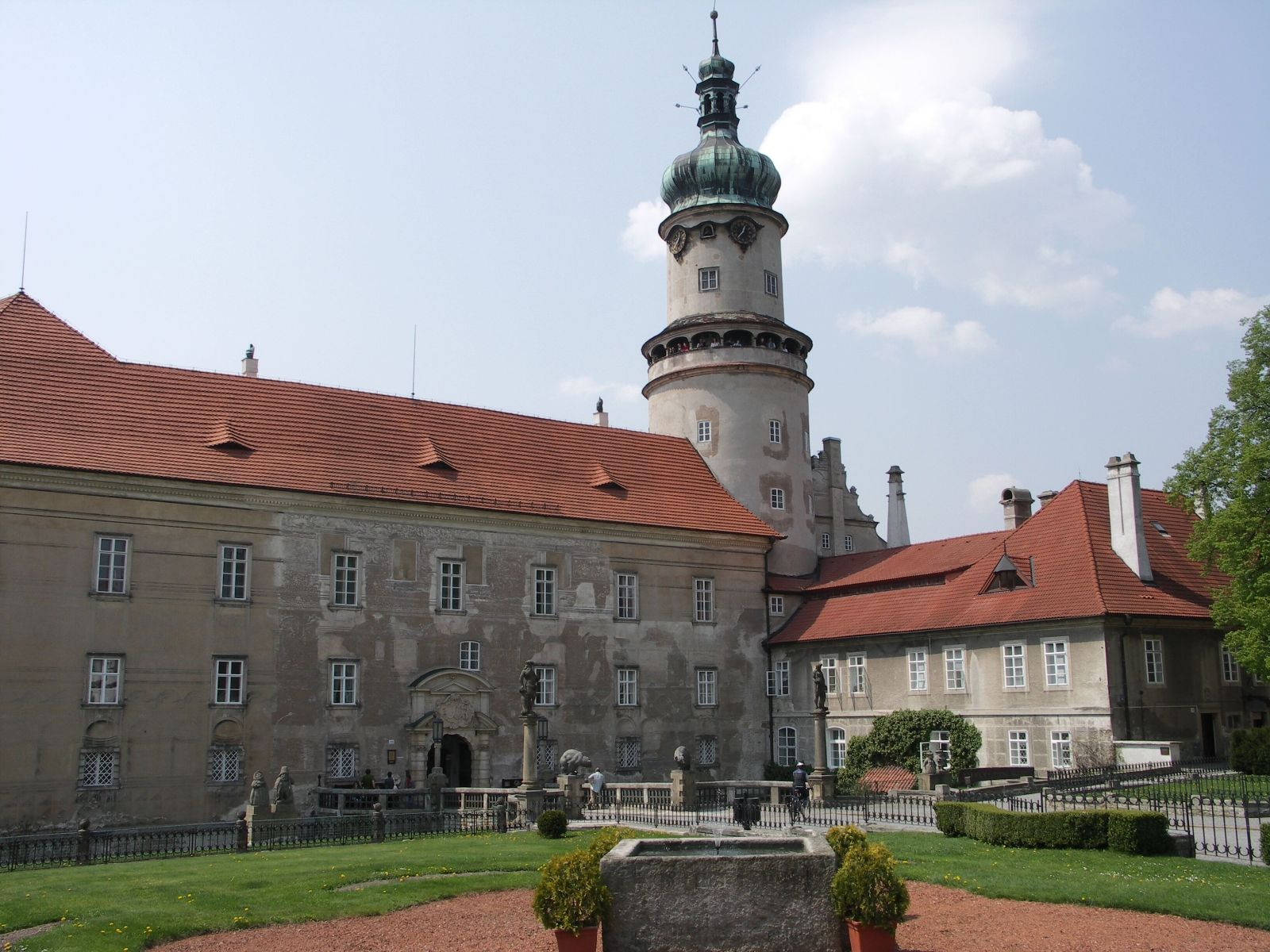 Schloss Nové Město nad Metují (Neustadt an der Mettau)
