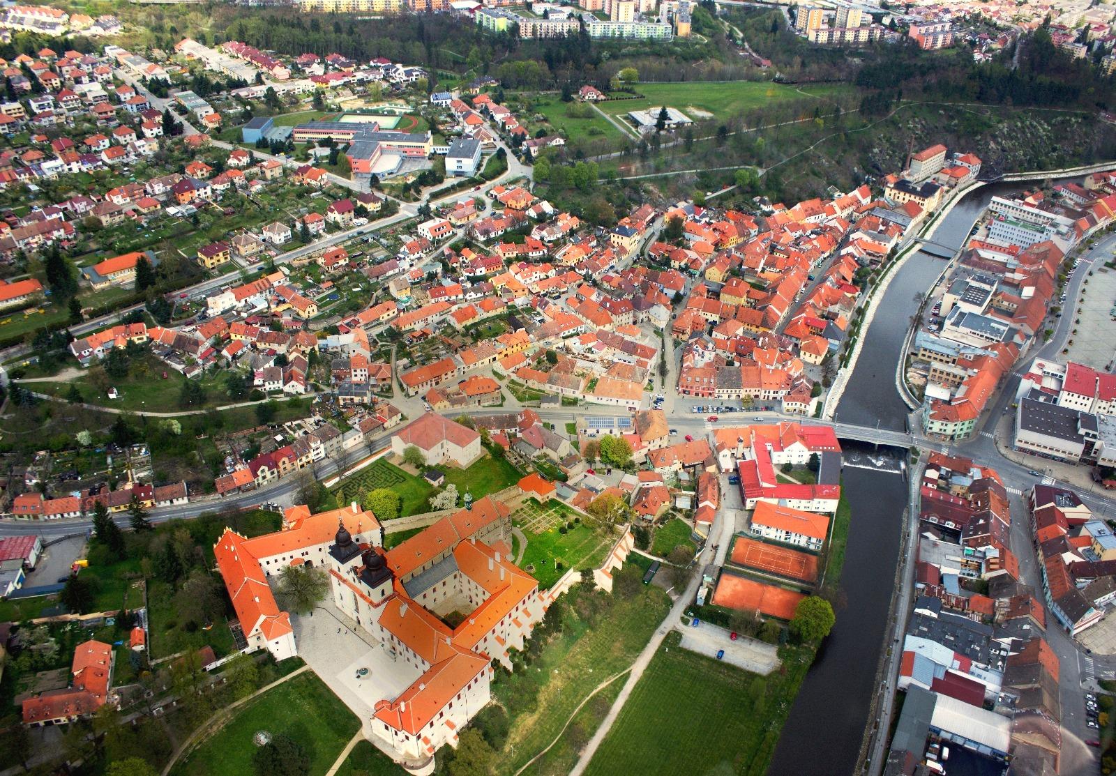 Židovská čtvrť a Židovský hřbitov Třebíč