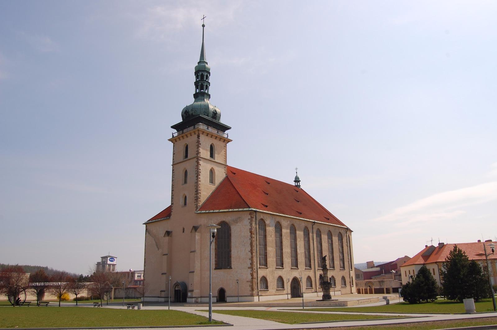 Kostel nanebevzetí Panny Marie Most